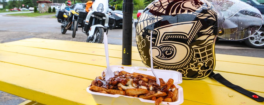 Poutine at Charlie Ds