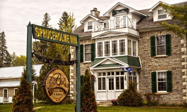 Spruceholme B&B building
