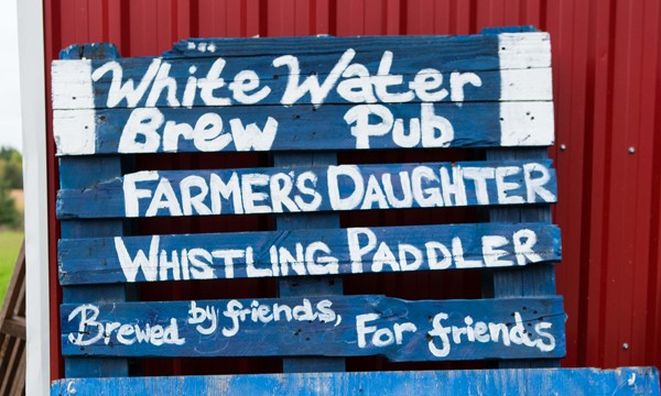 Whitewater Brew Pub Sign